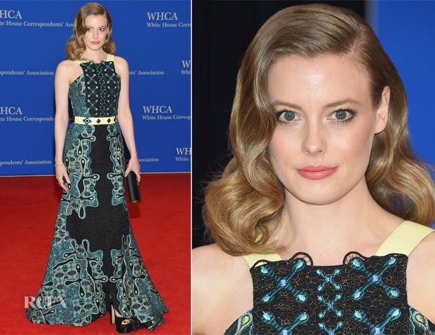 Gillian Jacobs In Peter Pilotto - 2015 White House Correspondents' Association Dinner