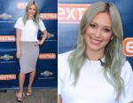 Hilary Duff In Jonathan Simkhai - Extra