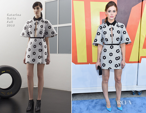 Holland Roden In Caterina Gatta - 2015 MTV Movie Awards