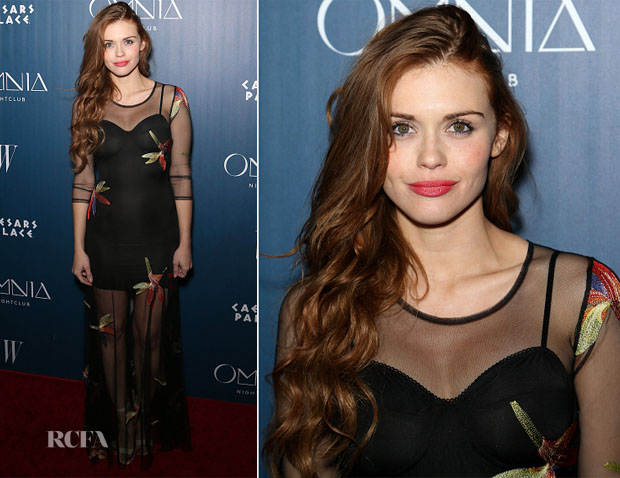 Holland Roden In For Love & Lemons - Omnia Nightclub Opening