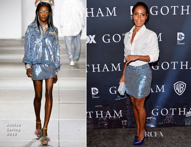Jada Pinkett Smith In Ashish - 'Gotham' Finale Screening Event