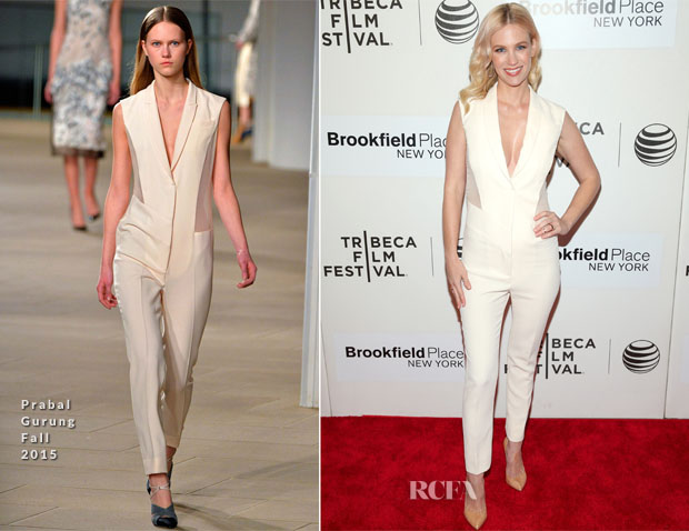 January Jones In Prabal Gurung - 'Good Kill' Tribeca Film Festival Premiere