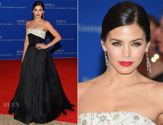 Jenna Dewan-Tatum In Reem Acra - 2015 White House Correspondents' Association Dinner