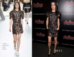 Jennifer Connelly In Louis Vuitton - 'The Avengers: Age of Ultron' New York Screening