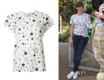 Jennifer Garner's Saint Laurent Star Print T-Shirt