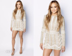Jennifer Lopez In Nicolas Jebran  - 'American Idol XIV' Top 6 Revealed Show