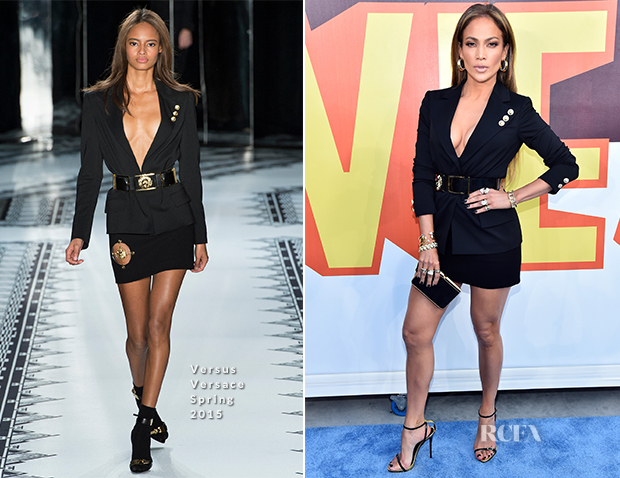 Jennifer Lopez In Versus Versace - 2015 MTV Movie Awards