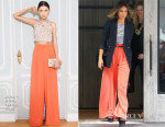 Jessica Alba In Ralph Lauren, A.L.C. & Alice + Olivia - 'The Rachael Ray Show'