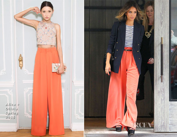 Jessica Alba In Ralph Lauren, ALC & Alice + Olivia - 'The Rachael Ray Show'