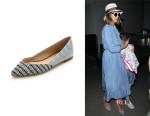 Jessica Alba's Loeffler Randall 'Lou' Pointed Toe Flats