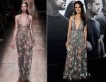 Jordana Brewster In Valentino - 'Furious 7′ LA Premiere