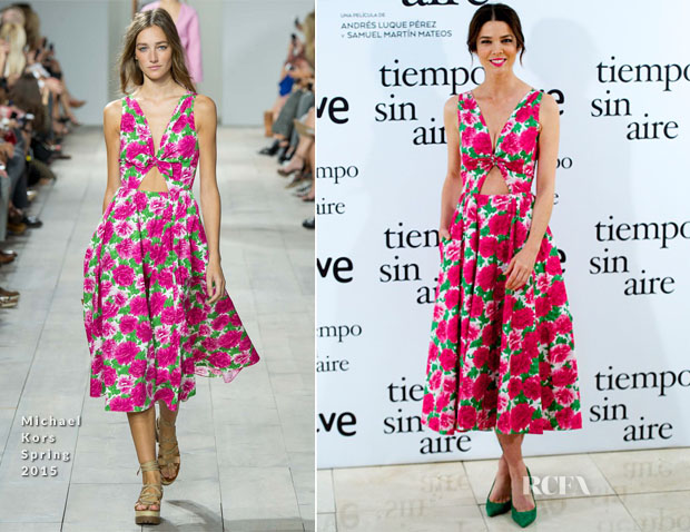 Juana Acosta In Michael Kors - 'Tiempo Sin Aire' Madrid Photocall