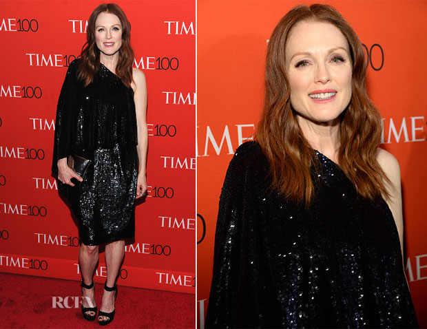 Julianne Moore In Givenchy - 2015 Time 100 Gala