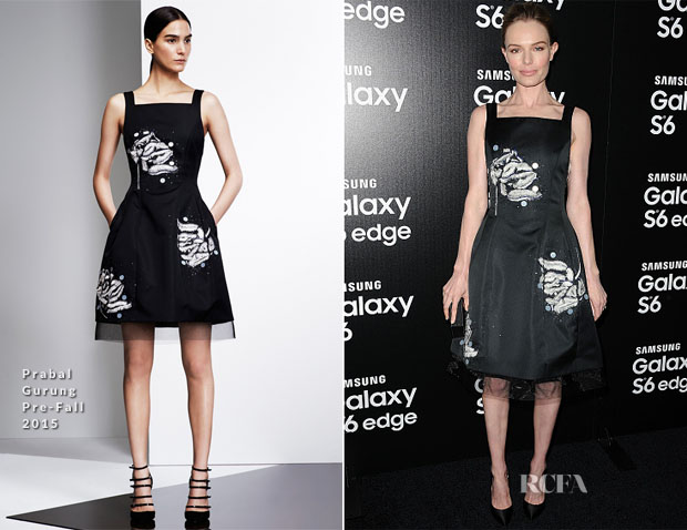 Kate Bosworth In Prabal Gurung - Samsung Celebrates Launch Of Galaxy S 6 And Galaxy S 6 Edge