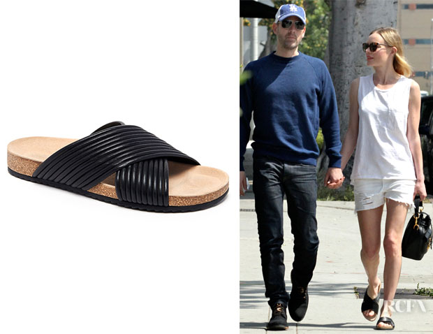 Kate Bosworth's Loeffler Randall 'Petra' Cross Strap Sandals