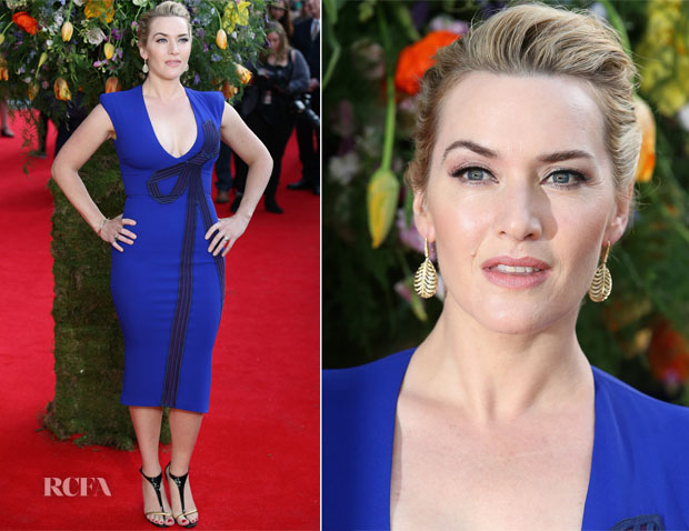 Kate Winslet In Stella McCartney - 'A Little Chaos' London Premiere