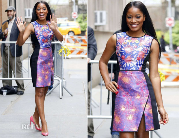 Keke Palmer In Peter Pilotto - The View