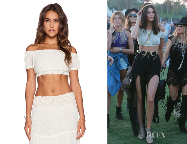 Kendall Jenner's Jen's Pirate Booty 'La Vie' Crop Top