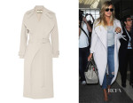 Khloé Kardashian's By Malene Birger 'Orietta' Cady Trench Coat