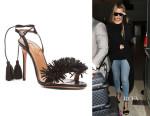 Khloe Kardashian's Aquazzura 'Wild Thing' Heels