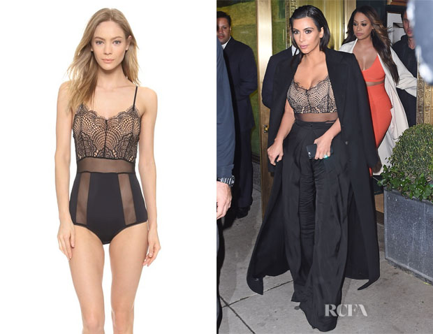 Kim Kardashian's For Love & Lemons 'Infinity' Bodysuit