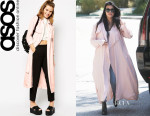 Kourtney Kardashian's ASOS 'First & I Trench' Coat