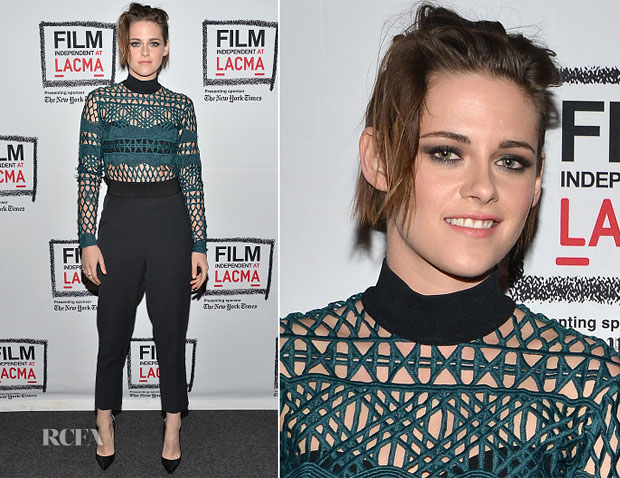 Kristen Stewart In Self-Portrait  - 'Clouds Of Sils Maria' LA Screening