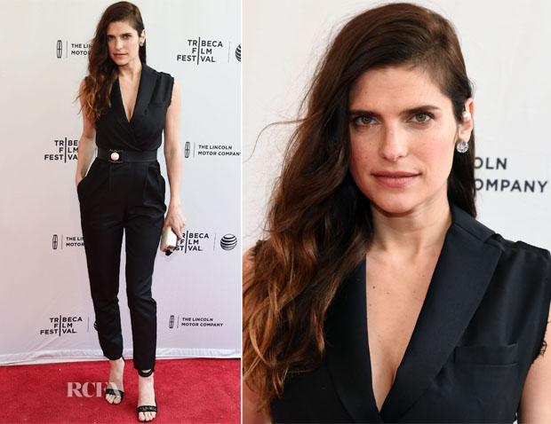 Lake Bell In Lanvin - 'Man Up' Tribeca Film Festival Premiere