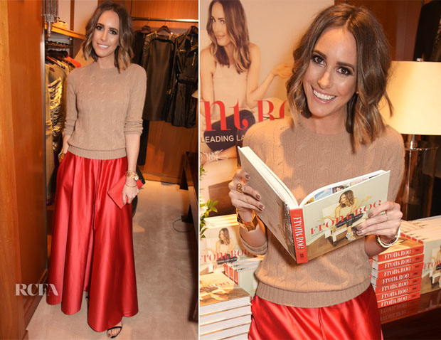 Louise Roe In Polo Ralph Lauren - 'Front Roe How To Be The Leading Lady In Your Own Life'  Book Launch