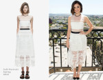 Lucy Hale In Self-Portrait - mark. Spring Beauty Collection Launch