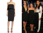 Lucy Hale's Elizabeth and James 'Addilyn' Crop Top And Elizabeth and James 'Aisling' Pencil Skirt