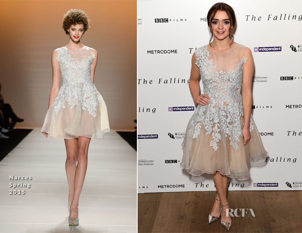Maisie Williams In Narces - 'The Falling'  Gala Screening