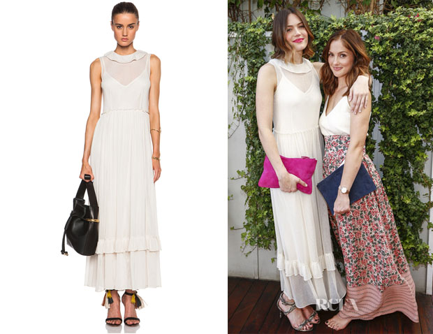 Mandy Moore's  The Great 'Lovely Lady' Dress