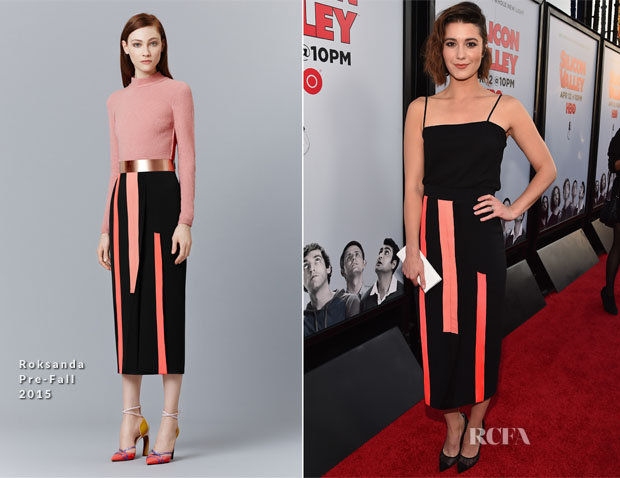 Mary Elizabeth Winstead In Roksandsa - 'Silicon Valley' Season 2 Premiere