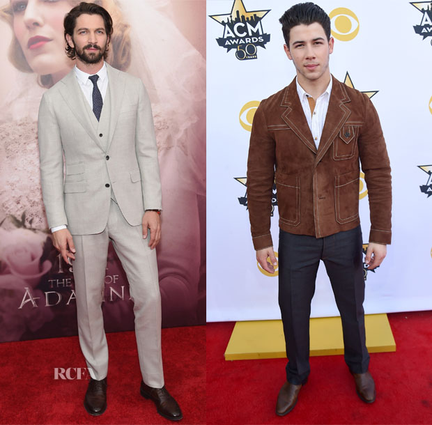 Menswear Red Carpet Roundup 20 april