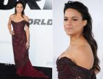Michelle Rodriguez In Vivienne Westwood - 'Furious 7' LA Premiere