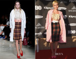 Miley Cyrus In Miu Miu - 30th Annual Rock And Roll Hall Of Fame Induction Ceremony