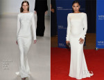 Naya Rivera ln Tadashi Shoji - 2015 White House Correspondents' Association Dinner