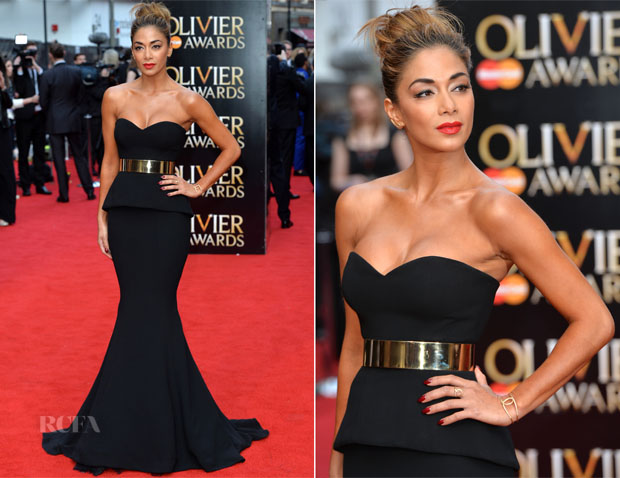 Nicole Scherzinger In Galia Lahav - 2015 Olivier Awards