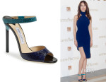 Olga Kurylenko's Jimmy Choo 'Deckle' Sandals