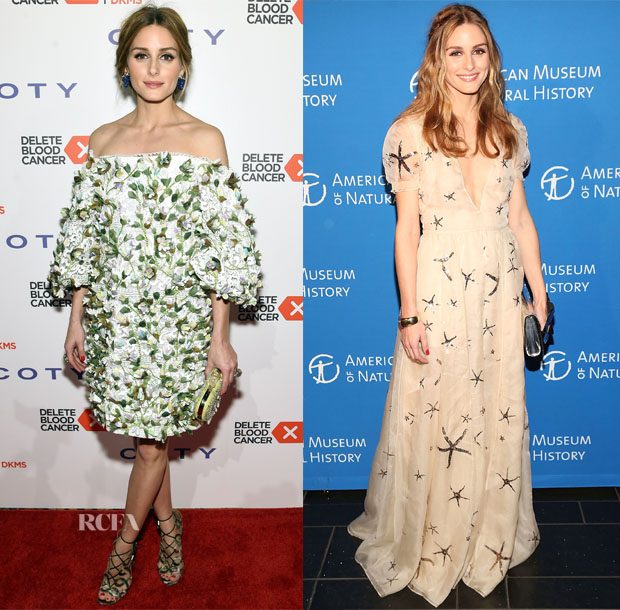 Olivia Palermo In Marchesa & Valentino - 9th Annual Delete Blood Cancer Gala & 2015 American Museum Of Natural History Museum Dance