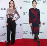 Olivia Wilde In Altuzarra, Dsquared², Christian Dior & Tory Burch