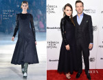 Olivia Wilde In Christian Dior - 'Sleeping With Other People' Tribeca Film Festival Premiere