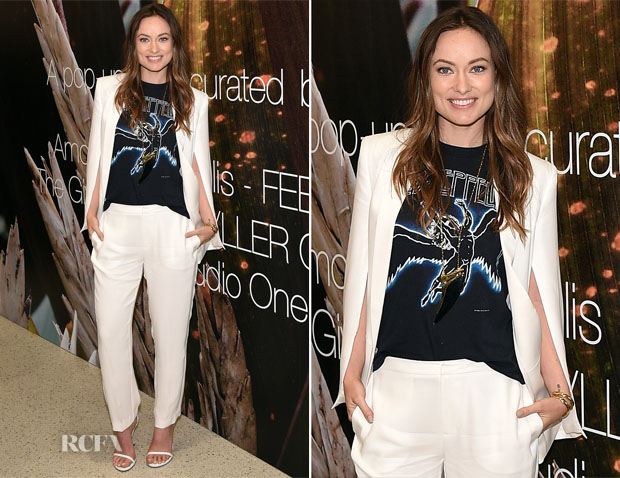 Olivia Wilde In H&M Conscious Collection - Conscious Commerce Celebrate The Conscious Pop-Up Shop
