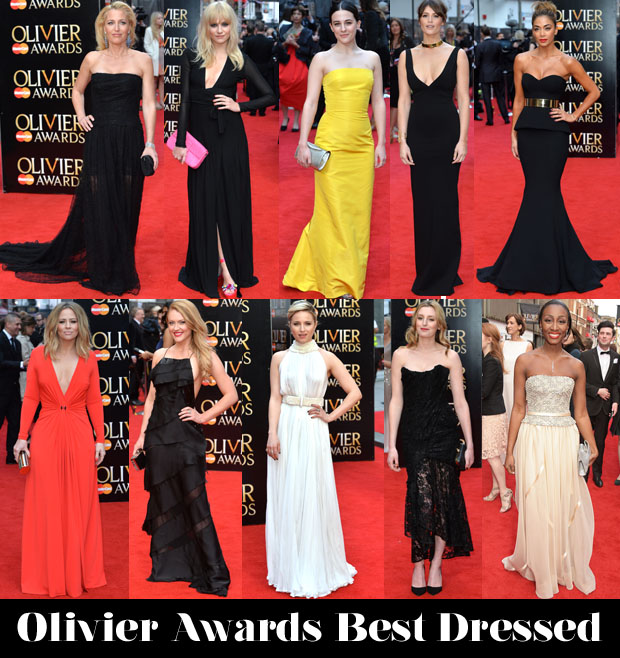 Olivier Awards best dressed