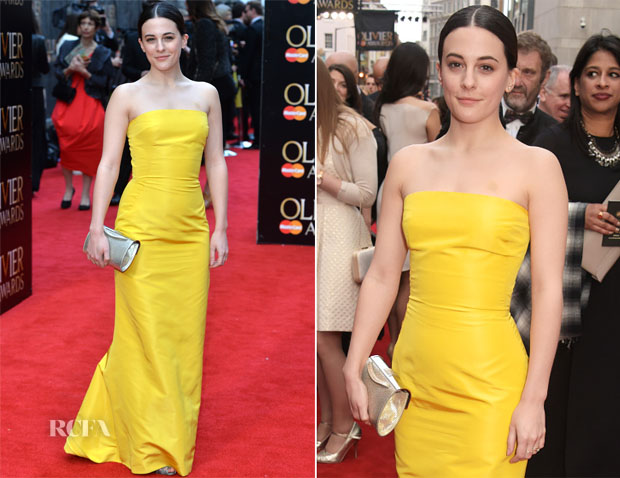 Phoebe Fox In Ralph Lauren - 2015 Olivier Awards
