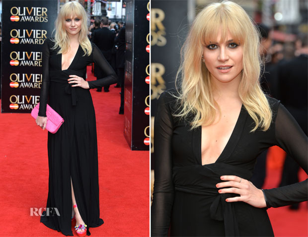 Pixie Lott In Issa - 2015 Olivier Awards