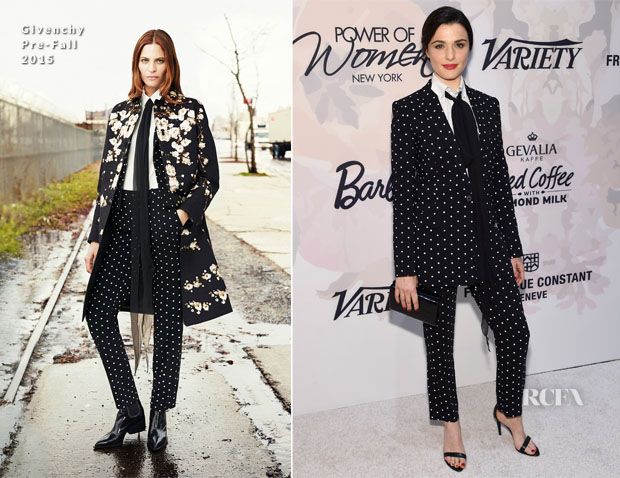 Rachel Weisz In Givenchy - Variety's Power of Women New York