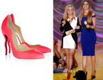 Reese Witherspoon's Christian Louboutin 'Dalida' Neon Leather Pumps