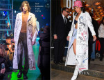 Rihanna In Raf Simons - Opening Ceremony 'M$$ X WT'